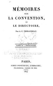 Mémoires sur la Convention: et le Directoire, Volume26