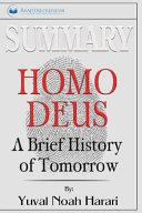 Summary Of Homo Deus Book PDF