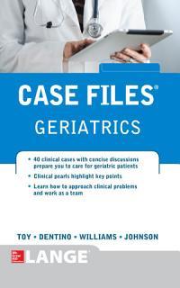 Case Files Geriatrics Book