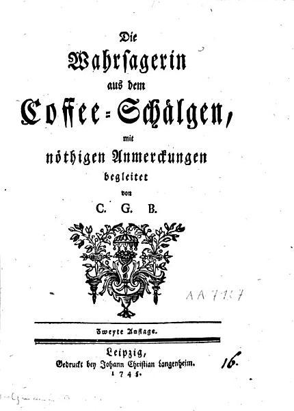 Die Wahrsagerin aus dem Coffee Schaelgen PDF