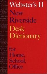 Webster s II New Riverside Desk Dictionary PDF