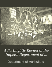 A Fortnightly Review of the Imperal Department of Agriculture for the West Indies Vol. II