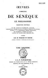 Oeuvres complètes de Séneque le philosophe