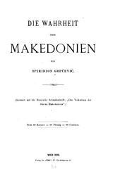 Die Wahrheit über Makedonien
