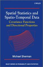 Spatial Statistics and Spatio-Temporal Data