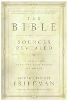 The Bible with Sources Revealed PDF