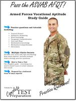 Pass the ASVAB AFQT  Armed Services Vocational Aptitude Battery Study Guide and Practice Questions PDF