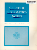 Scientific Information Notes PDF