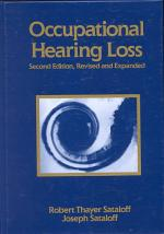 Occupational Hearing Loss, Second Edition