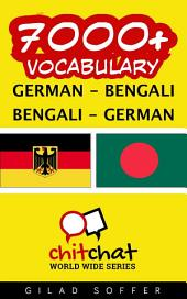 7000+ German - Bengali Bengali - German Vocabulary