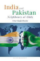 India and Pakistan PDF
