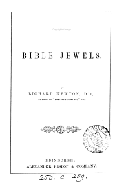 Bible jewels [sermons]. Author's ed