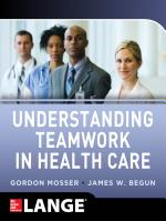 Understanding Teamwork in Health Care PDF
