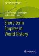 Short term Empires in World History