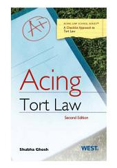 Acing Tort Law: Edition 2