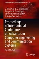 Proceedings of International Conference on Advances in Computer Engineering and Communication Systems PDF