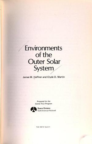 Environments of the outer solar system