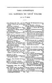 Archives generales de medecine: Volume4;Volume26