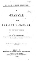 A Grammar of the English Language PDF