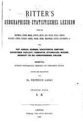 Geographisch-statistisches Lexicon über die Erdtheile, Länder, etc: Band 2