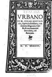 Urbano: Opera bellitissima