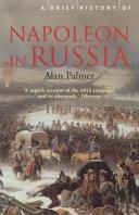 A Brief History of Napoleon in Russia PDF