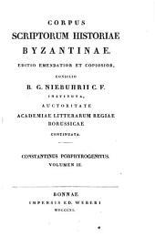 De thematibus et de administrando imperio: accedit Hieroclis Synecdemus cum Bandurii et Wesselingii commentariis