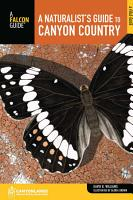 Naturalist s Guide to Canyon Country PDF