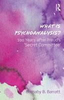 What is Psychoanalysis  PDF