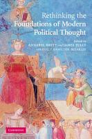 Rethinking The Foundations of Modern Political Thought PDF