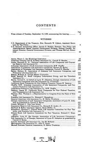Life Insurance Company Taxation PDF