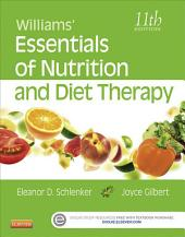 Williams' Essentials of Nutrition and Diet Therapy: Edition 11