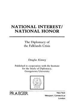 National Interest  National Honor PDF