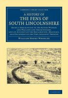 A History of the Fens of South Lincolnshire PDF
