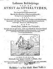 Beschrijvinge van de kunst der stuer-luyden