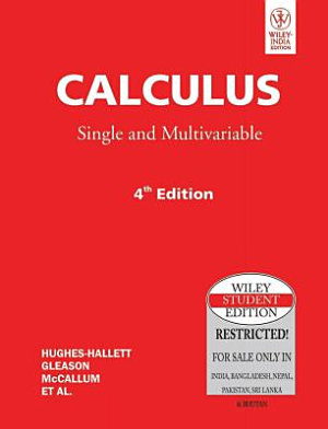 CALCULUS SINGLE AND MULTIVARIABLE  4TH ED