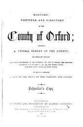 History, Gazetteer, and Directory of the County of Oxford