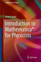Introduction to Mathematica   for Physicists PDF