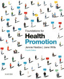 Foundations for Health Promotion Book