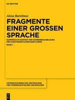 Fragmente einer grossen Sprache PDF