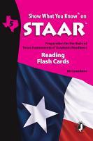 SWYK on STAAR Reading Gr  5  Flash Cards PDF