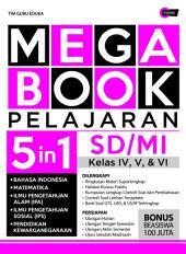 Mega Book Pelajaran SD/MI Kelas IV, V, & VI