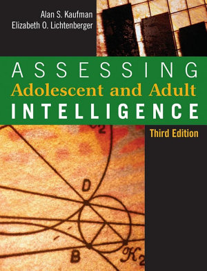 Assessing Adolescent and Adult Intelligence PDF