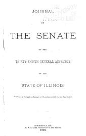 Journal of the Senate of the General Assembly of the State of Illinois