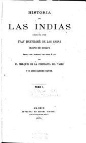 Historia de las Indias: Volumen 1