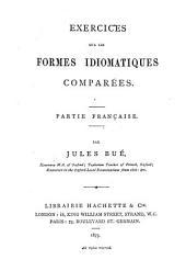 Exercises sur les formes idiomatiques comparées. Pte française