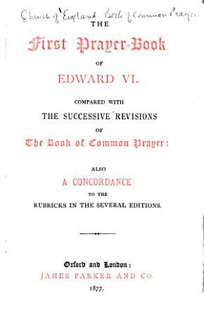The First Prayer book of Edward VI PDF