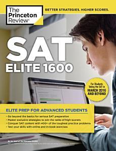 SAT Elite 1600 Book