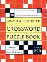 Simon and Schuster Crossword Puzzle Book  229 PDF