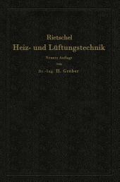 H. Rietschels Leitfaden der Heiz- und Lüftungstechnik: Ausgabe 9